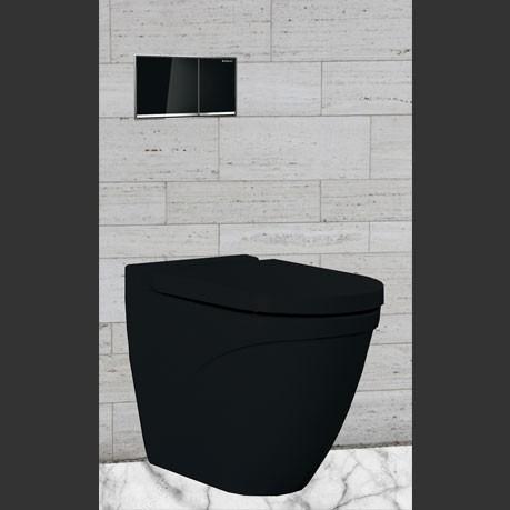 Black Inwall Toilet Package