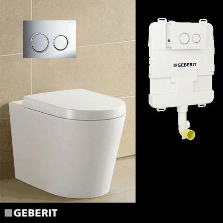Inwall Toilet Package
